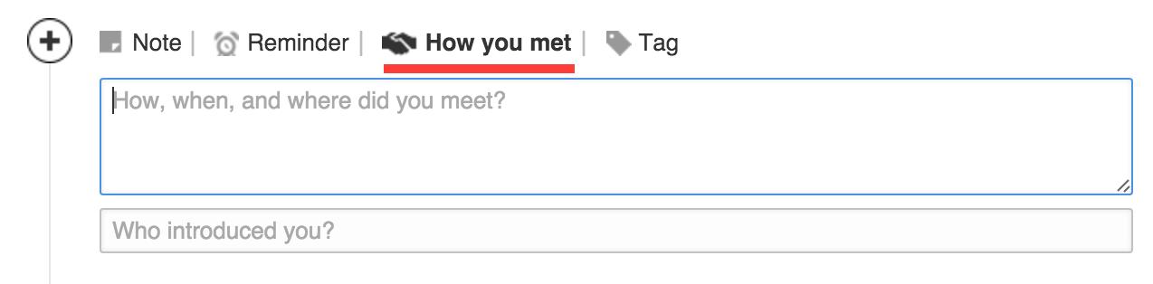 How you met TAB