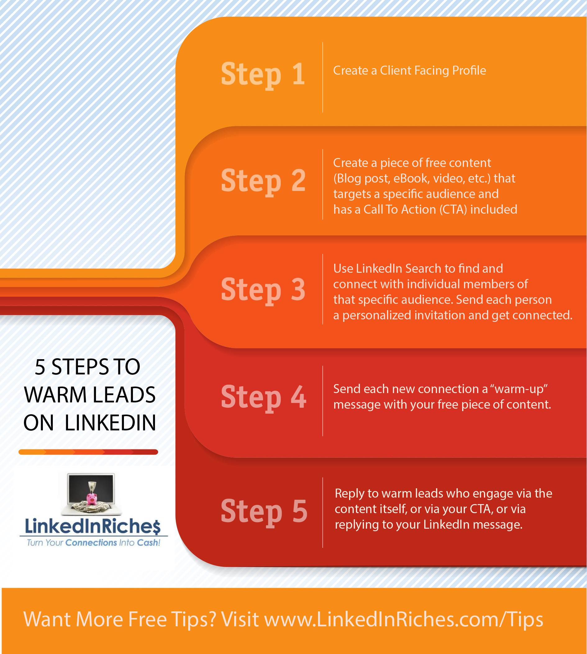 LinkedInRiches Infographic
